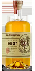 St. George Single Malt Whiskey. Image courtesy St. George Spirits.