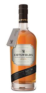 Cotswolds Single Malt Whisky. Image courtesy Cotswolds Distillery.