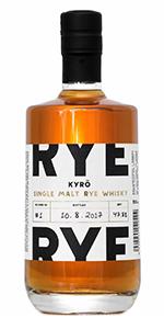 Kyrö Single Malt Rye Whisky. Image courtesy Kyrö Distillery.