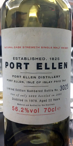 Port Ellen 2001 First Annual Release. Photo ©2017, Mark Gillespie/CaskStrength Media.