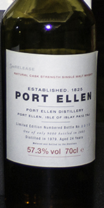 Port Ellen 2003 Third Annual Release. Photo ©2017, Mark Gillespie/CaskStrength Media.
