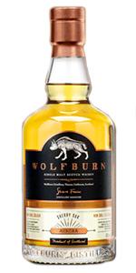Wolfburn Aurora. Image courtesy Wolfburn Distillery.