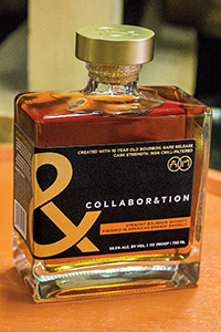 Collaboration Bourbon Brandy Finish. Image courtesy Bardstown Bourbon Company/Copper & Kings Distillery.