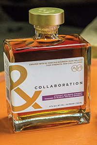 Collaboration Bourbon Muscat Mistelle Finish. Image courtesy Bardstown Bourbon Company/Copper & Kings Distillery.