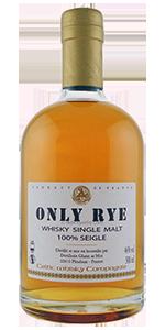 Glann ar Mor Only Rye. Image courtesy Glann ar Mor Distillery.