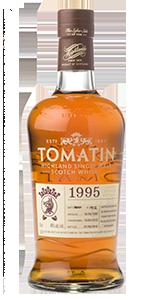 Tomatin 1995. Image courtesy Tomatin Distillery.