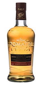 Tomatin 2007 Rum Cask. Image courtesy Tomatin.