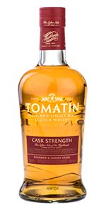 Tomatin Cask Strength. Image courtesy Tomatin Distillery.