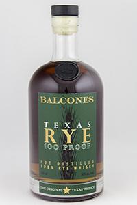 Balcones Texas Rye 100 Proof. Photo ©2018, Mark Gillespie/CaskStrength Media.