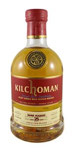 Kilchoman 2007 KWM Single Cask. Image courtesy Kensington Wine Market.