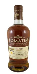 Tomatin 1999 KWM Cask. Image courtesy Kensington Wine Market.