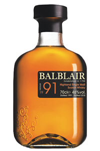 Balblair 1991 Third Release. Image courtesy Balblair/International Beverage.