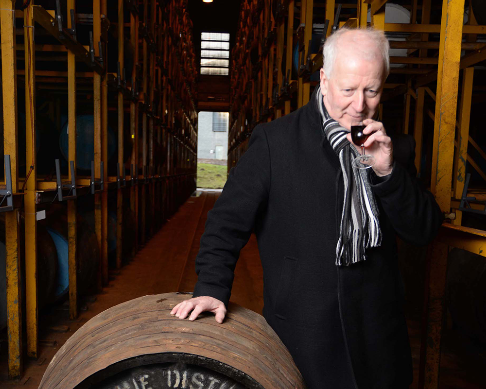 Billy Walker of The GlenAllachie Distillery. Image courtesy The GlenAllachie.