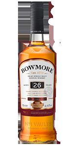 Bowmore 26 Vintner's Trilogy Series. Image courtesy Bowmore/Beam Suntory.