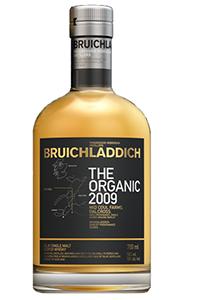 Bruichladdich The Organic 2009. Image courtesy Bruichladdich.