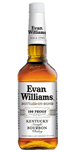 Evan Williams Bottled in Bond Bourbon. Image courtesy Heaven Hill.