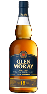 Glen Moray 18. Image courtesy Glen Moray/La Martiniquaise.