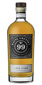 Wayne Gretzky No. 99 Ice Cask Canadian Whisky. Image courtesy Wayne Gretzky Estates.
