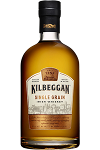 Kilbeggan Single Grain Irish Whiskey. Image courtesy Beam Suntory.