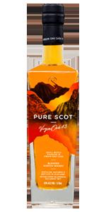 Pure Scot Virgin Oak Blended Scotch Whisky. Image courtesy Bladnoch Distillery Company.