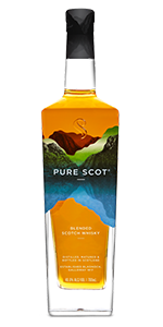 Pure Scot Blended Scotch Whisky. Image courtesy Bladnoch Distillery Company.