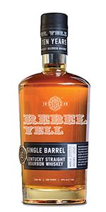 Rebel Yell Single Barrel Bourbon. Image courtesy Luxco.