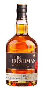 The Irishman Founder's Reserve Marsala Cask. Image courtesy Walsh Whiskey Company.