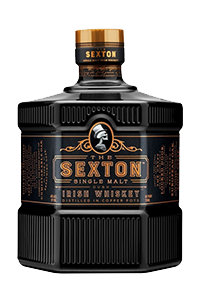 The Sexton Irish Single Malt. Image courtesy Proximo Spirits.