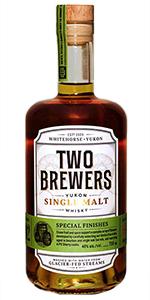 "Two Brewers ""Innovative Series"" Single Malt. Image courtesy Yukon Spirits."