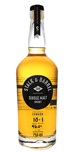 Stalk & Barrel Single Malt Whisky. Image courtesy Still Waters Distillery.