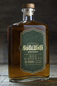 Stoll & Wolfe Rye Whiskey. Image courtesy Stoll & Wolfe Distillery.