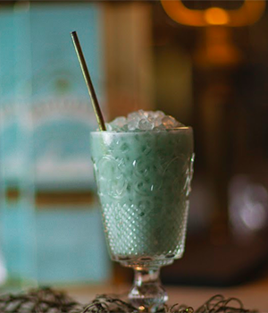 The Arctic Seas cocktail. Image courtesy Whyte & Mackay.