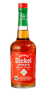 George Dickel Tabasco™ Barrel Finish. Image courtesy Diageo.