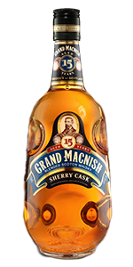 Grand MacNish 15 Sherry Cask. Image courtesy Macduff International.