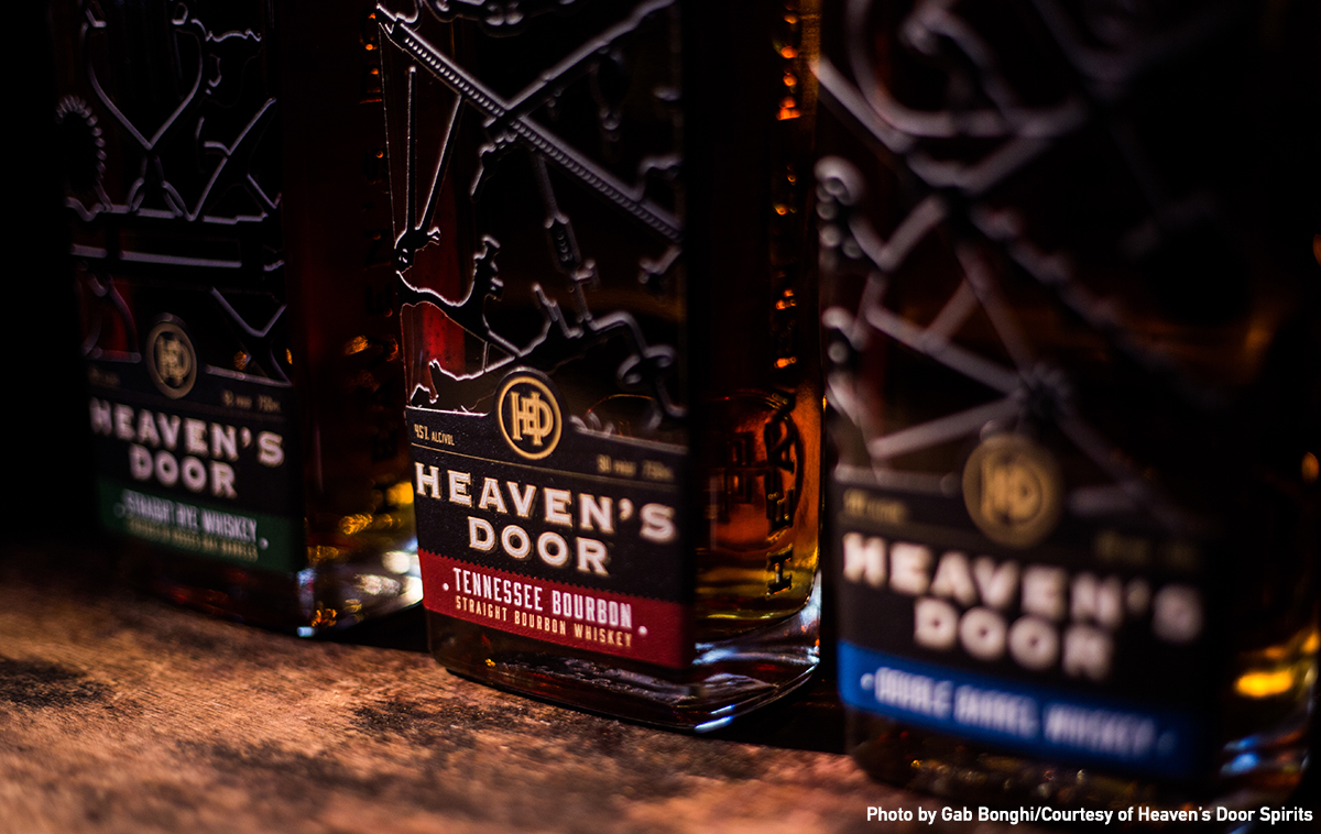 The Heaven's Door whiskies. Image by Gab Bonghi courtesy Heaven's Door Spirits.