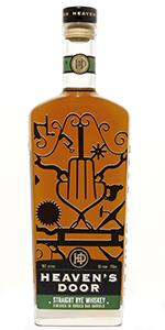 Heaven's Door Straight Rye Whiskey. Image courtesy Heaven's Door Spirits.