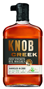 Knob Creek Cask Strength Rye. Image courtesy Beam Suntory.