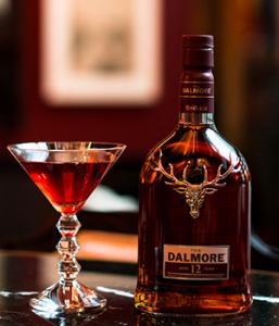 The La Dame de Coeur Cocktail. Image courtesy Whyte & Mackay.