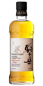 Mars Komagatake Japanese Whisky. Image courtesy Tokiwa Imports.