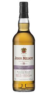 The John Milroy Selection Blair Athol 25 Years Old. Image courtesy Spirit Imports.