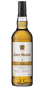 The John Milroy Selection Staoisha 3 Years Old. Image courtesy Spirit Imports.