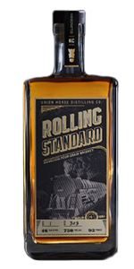 Rolling Standard Midwestern Four Grain Whiskey. Image courtesy Union Horse Distilling.