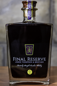 James Thompson & Brother Final Reserve 45 Year Old Bourbon. Photo ©2018, Mark Gillespie/CaskStrength Media.