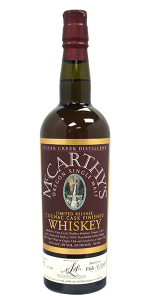 McCarthy's Oregon Single Malt Cognac Finish. Image courtesy Hood River Distillers.