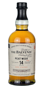 The Balvenie Peat Week 2018 Edition. Image courtesy William Grant & Sons.