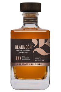 Bladnoch 10 Years Old. Image courtesy Bladnoch Distillery.