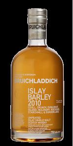 Bruichladdich Islay Barley 2010. Image courtesy Bruichladdich.