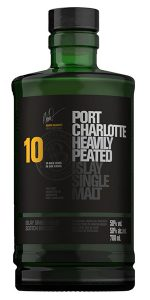 Bruichladdich Port Charlotte 10 Years Old. Image courtesy Bruichladdich.