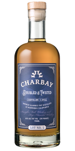Charbay Doubled & Twisted Whiskey. Image courtesy Charbay Distillery.