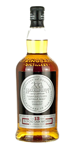 Hazelburn 13 Oloroso Cask. Image courtesy J&A MItchell/Springbank Distillers.